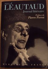 Paul LEAUTAUD JOURNAL LITTERAIRE