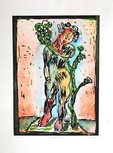 UNIKAT - Markus Lüpertz (* 1941), Daphne, 2003