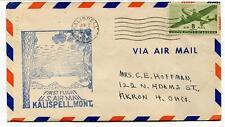 FFC 1949 First Flight Kalispell Billings USA - Akron Ohio US Air Mail