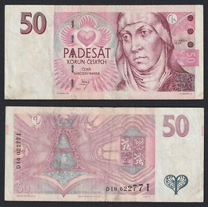Cecoslovacchia 50 korun 1997  BB/VF  C-07