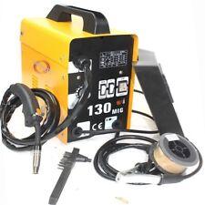 120amp Mig130 110v Flux Core Auto Feed Welding Machine Welder Withspool Wire Amp Fan
