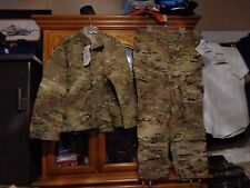 SET NEW  MULTICAM SHIRT PANT US ARMY  SIZE ARGE REGULAR  LR  NEW WITH TAG
