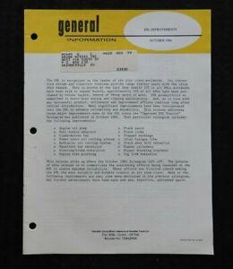 "1980 GENUINE CATERPILLAR ""D9L TRACK-TYPE TRACTOR IMPROVEMENTS"" SALES UPDATE"