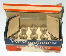 Boite de 10 ampoules S6 120 V 3 W E12 Militaire US NOS NIB  WESTINGHOUSE - RARE