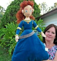 LARGE Disney Pixar Brave Princess Merida Plush Stuffed Animal Doll