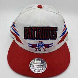 Boston Patriots Snapback Hat Team NFL Mitchell & Ness Vtg Throwback Rare