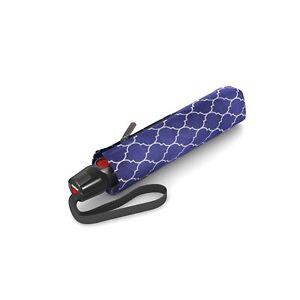Knirps T.200 Duomatic Umbrella Regenerate Blue - UV Protection