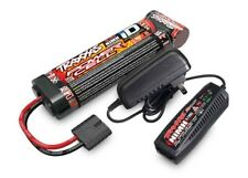 Traxxas 3000mAh 8.4V 7-cell NiMH Battery/Charger Completer Pack for Slash 4x4 Ra