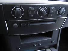 D BMW E60 E61 Chrom Rahmen für CD - Einschub Edelstahl poliert 1x Rahmen