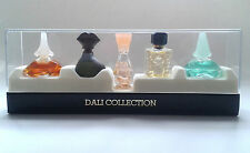 Vintage Salvador Dali Miniature Collection Eau de Toilette Splash Set