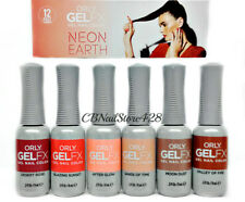 ORLY Gel FX Nail Polish- NEON EARTH Collection - 6 colors 30975-30980