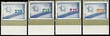 ISRAEL Stamps 1998 NATIONAL FLAG EMERGENCY ISSUE + BOTTOM TABS (Scarce)  MNH XF