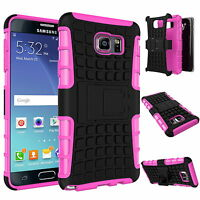 Heavy Duty Hard Shockproof Stand Tough Armor Case Cover For Samsung Galaxy Phone