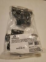 """Wireless Solutions Hnagar Adaptor Grommet for LMR-400 & 3/8"""" Cable.  10 Pack"""