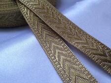 18mm X 5m Metalic Lurex Ribbon Cut Length Sparkle Effect Sewing Crafts Christmas
