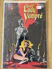 Death Of Lady Vampre #1 by Bruce Schoengood Dave Gutierrez (1995, Blackout)