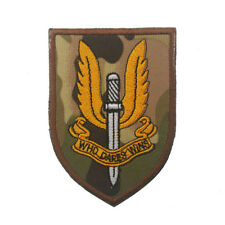 Special Air Service Patches WHO DARES WINS ARMY MORALE BADGE EMBORIDERED PATCH