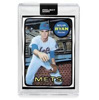 Topps Project 2020 #87 Nolan Ryan New York Mets - Joshua Vides HOF