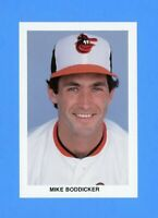 1986  BALTIMORE ORIOLES TEAM ISSUED POSTCARD MIKE BODDICKER  NM-MT