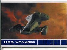 Star Trek Voyager Quotable USS Voyager Chase Card V2