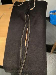 "Tender Type 110 Drawstring Pyjame Trousers Size 5  XL 36-38"" Waist Wool-Cootton"
