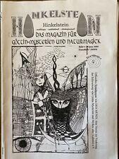 Hinkelstein. Magazin für Göttin-Mysterien und Naturmagick