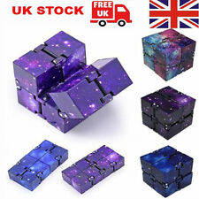 Sensory Infinity Cube Stress Fidget Toys for Autism Anxiety Relief Kids Adult UK