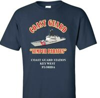COAST GUARD STATION KEY WEST-FLORIDA *COAST GUARD VINYL PRINT SHIRT/SWEAT