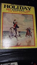 1923 CHILDREN'S HOLIDAY ANNUAL FOR BOYS & GIRLS COLOR PRINTS  ILLUSTRATED
