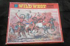 Vintage KG Games Wild West Jigsaw Puzzle 400 Pieces -War Party