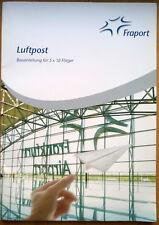 "FRAPORT ""Luftpost Bauanleitung für 5 x 10 Flieger"" Papierflieger direkt v. Block"