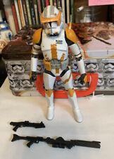"Star Wars Black Series Commander Cody 6"" Action Figure Clone Wars Complete Lose"