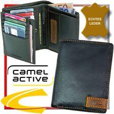 camel active, porte-monnaie d'hommes, Porte-Monnaie, Portefeuille, cuir, NEUF