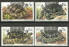 Südwestafrika-Namibia Schildkröten Satz gestempelt 1982 Mi. 516-519