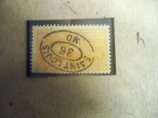 USA Used, 1925  15 Cent Special Delivery Deep orange Perf 11, Scott #E13.