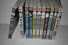 DEATH NOTE VOLUMES 1-10 SHONEN JUMP MANGA