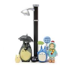 7pcs Studio Ghibli Street lamp Street lamp Bus station umbrella totoro Figure