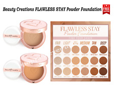 Beauty Creations FLAWLESS STAY Powder Foundation - Pick your shade! NEW