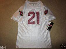 Patrick Peterson #21 Arizona Cardinals NFL Pink Jersey Girls L 10-12 LG NEW Nwt