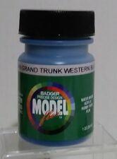 Badger Modelflex acrylic paint 16-66, Grand Trunk Western Blue.
