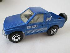 1991 Matchbox Metallic Blue Isuzu Amigo Pickup Truck 1:57 - Thailand (Mint)