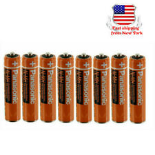 Panasonic AAA NI-MH Rechargeable Batteries 550mAh 1.2V for Cordless Phones 8Pack