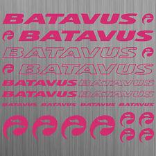 BATAVUS aufkleber sticker fahrrad bike mtb bmx road 20 Stücke Pieces