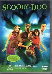 SCOOBY-DOO DVD FREDDIE PRINZE JR LIVE ACTION REGION 4 NEW AND SEALED