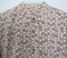 The Territory Ahead Men's XL Long Sleeve Button Down Shirt Geometric Pattern