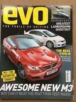 Evo Magazine #108 - September 2007 - Lambo Shootout Civic Type-R M3 v RS4