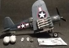 Elite Force F4U Corsair Fighter Plane 1:18 scale