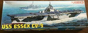 1/700 USS ESSEX CV-9 US Navy Aircraft Carrier by Dragon  O