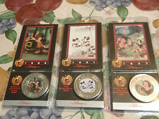 the disney decades coins lot of 3