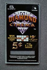 IGT Slot Machine Game King I-Game Video BV Side Glass any Diamond Cinema Theme